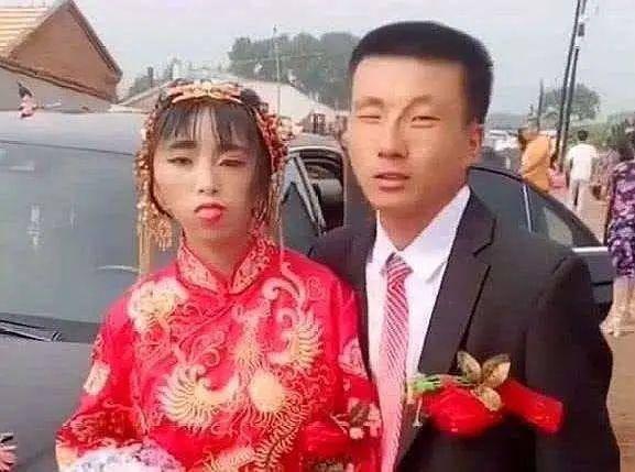 Hình ảnh cô dâu xấu xí, kỳ lạ gây sốt MXH, sự thật phía sau gây tranh cãi-1