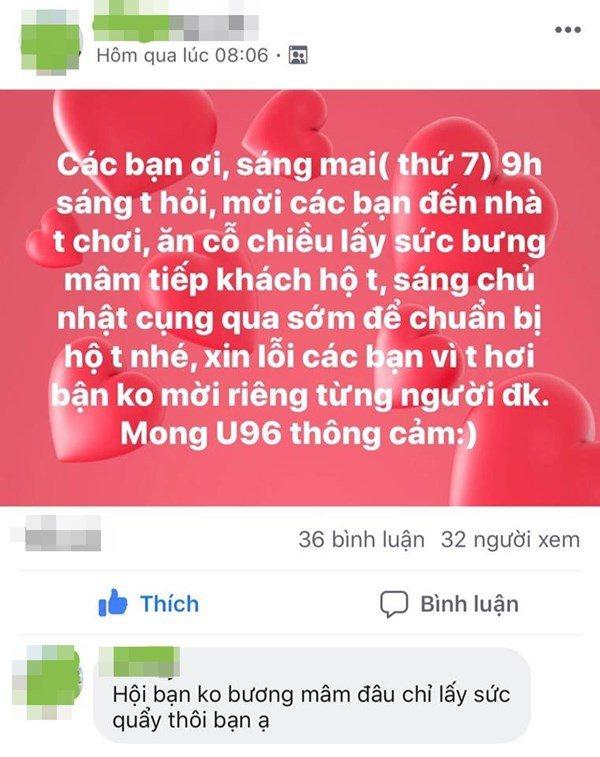 Mời cưới trên Facebook, cô dâu khóc òa cầu xin bạn bè tới dự-2