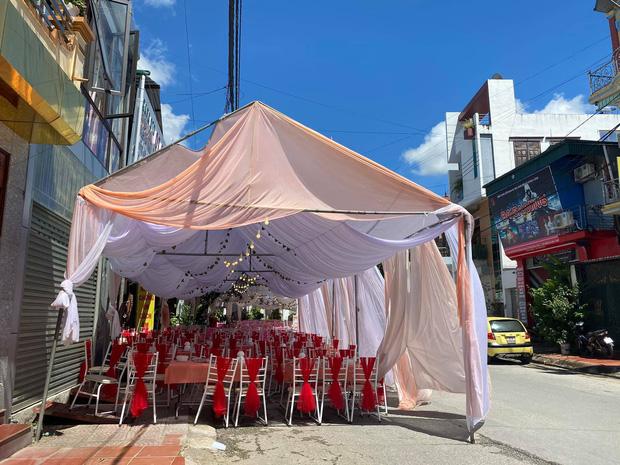 Vụ nhà hàng bị bom 150 mâm cỗ giá hơn 200 triệu: Hôm qua cô dâu vẫn đến hỏi về tình hình cỗ bàn-5