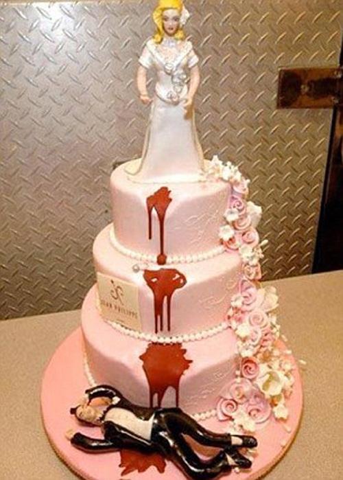 Thảm họa bánh cưới khiến cô dâu chú rể chán chả muốn về chung nhà-4