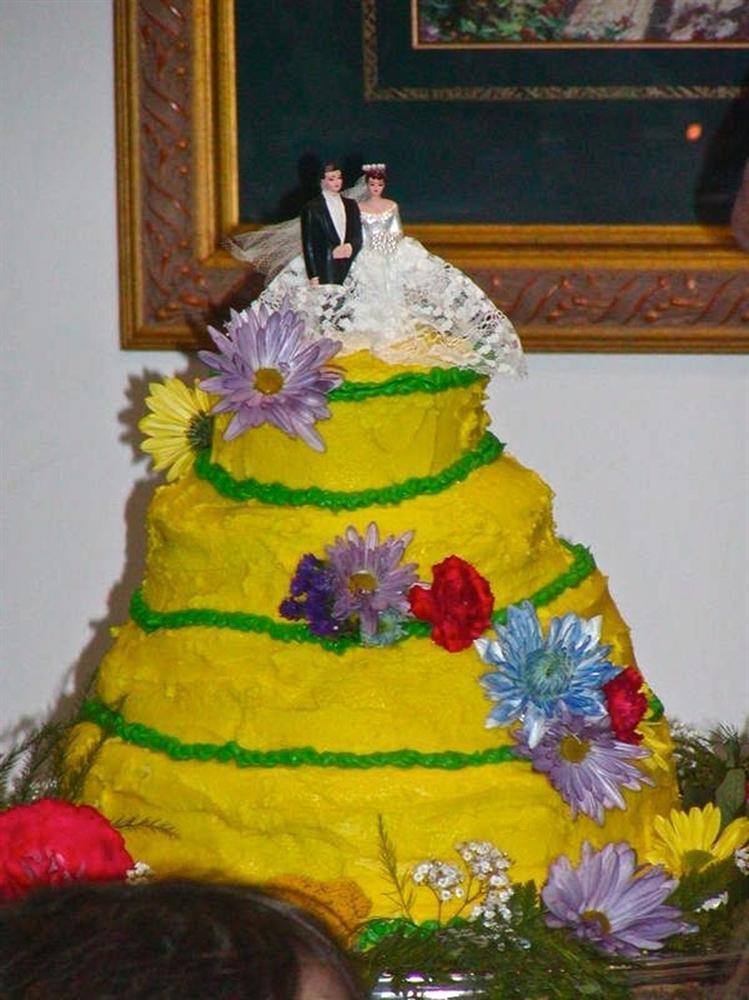 Thảm họa bánh cưới khiến cô dâu chú rể chán chả muốn về chung nhà-6