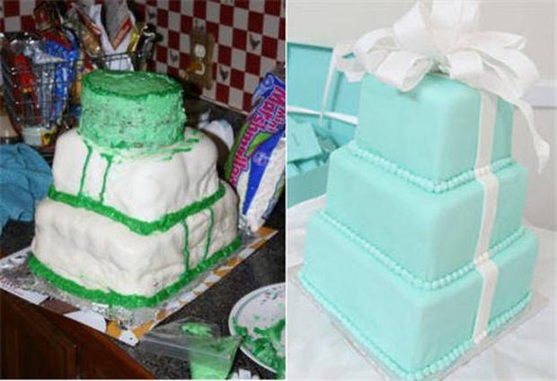 Thảm họa bánh cưới khiến cô dâu chú rể chán chả muốn về chung nhà-12