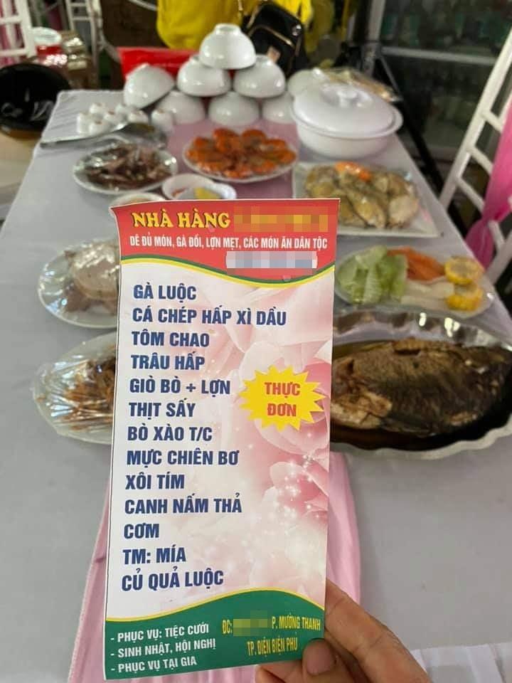 Vụ nhà hàng bị bom 150 mâm cỗ giá hơn 200 triệu: Hôm qua cô dâu vẫn đến hỏi về tình hình cỗ bàn-4