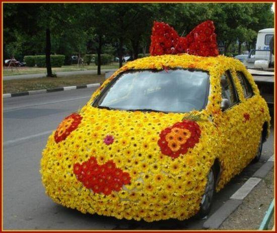 Đứng hình mất 5 giây trước những chiếc xe hoa đón dâu có độ sáng tạo thượng thừa-8