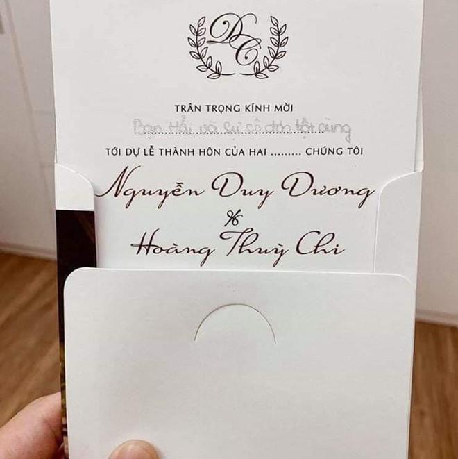 Thiệp mời quy định giá mừng cưới của cặp nghiện mua sắm ở Hải Phòng gây bão mạng-6