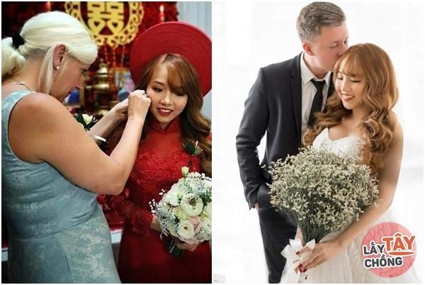 Lên mạng thả thính, cô gái Việt câu được chồng Đức, ngày cưới thông gia ôm nhau khóc-5
