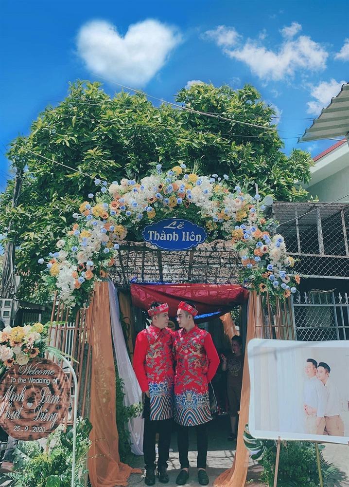 Cặp đồng tính nam ở Tây Ninh tổ chức đám cưới, ngoại hình đẹp như soái ca gây xôn xao-4