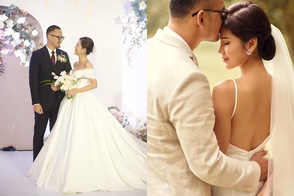 Nhan sắc MC Thu Hoài trong ngày làm cô dâu có giống như khi lên truyền hình?-3
