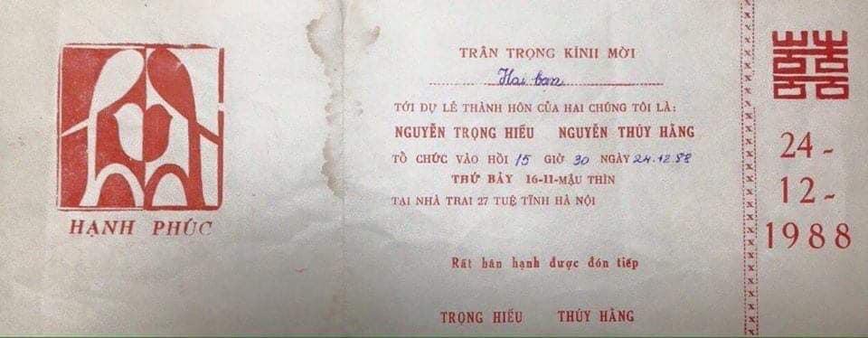 Lục được thiệp cưới thời ông bà những năm trước 1960, dân tình thi nhau khoe như báu vật-5