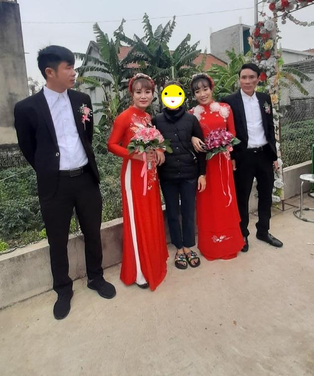 Đám cưới không sinh cùng ngày nhưng nguyện lấy chồng cùng giờ cặp chị em xứ Nghệ-1
