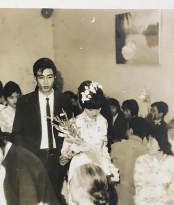 Doãn Hải My khoe ảnh cưới chuẩn rich kid của ông bà ngoại cách đây 50 năm-2