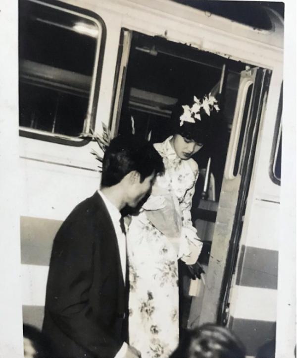 Doãn Hải My khoe ảnh cưới chuẩn rich kid của ông bà ngoại cách đây 50 năm-3