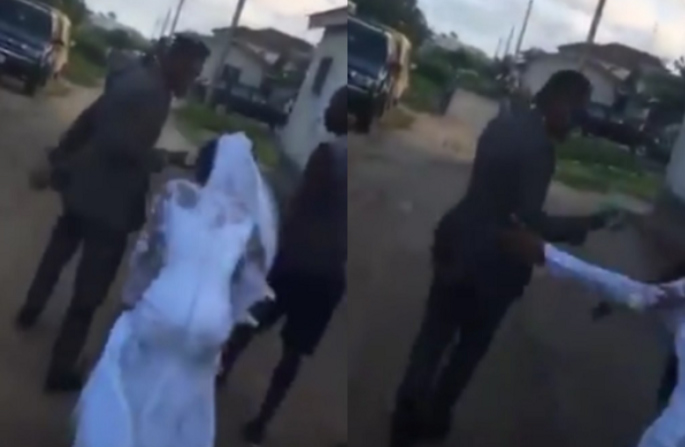 Chứng kiến hành động của cô dâu, chú rể hủy hôn dù đang đến lễ đường-1