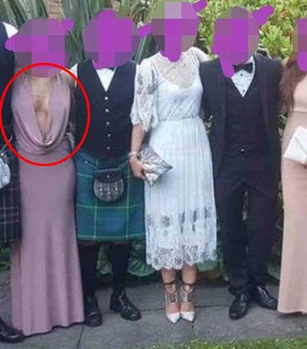 Đi đám cưới, cô gái diện áo kiểu gì mà muốn rơi cả tuyết lẫn lê-4
