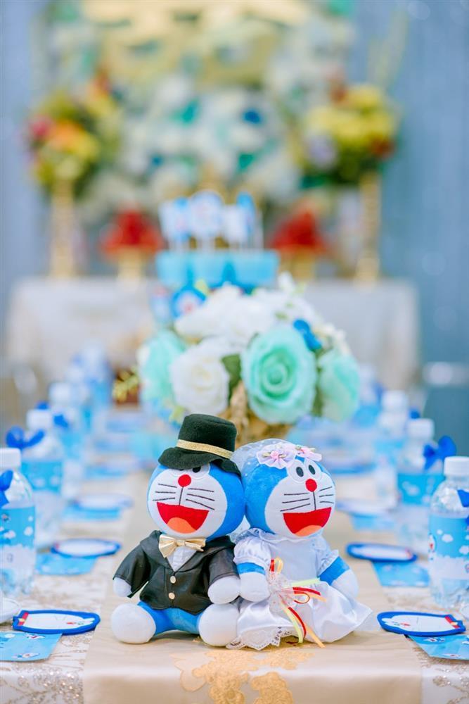 U mê Doraemon, cô dâu 9x được mẹ chồng tặng nguyên bộ trang sức hình mèo máy-9