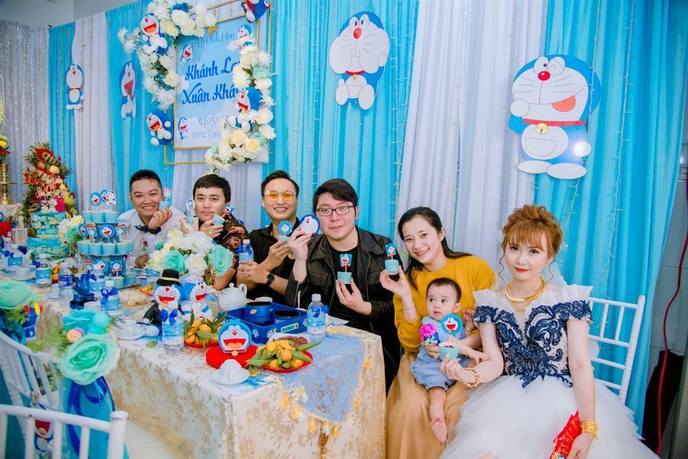 U mê Doraemon, cô dâu 9x được mẹ chồng tặng nguyên bộ trang sức hình mèo máy-14