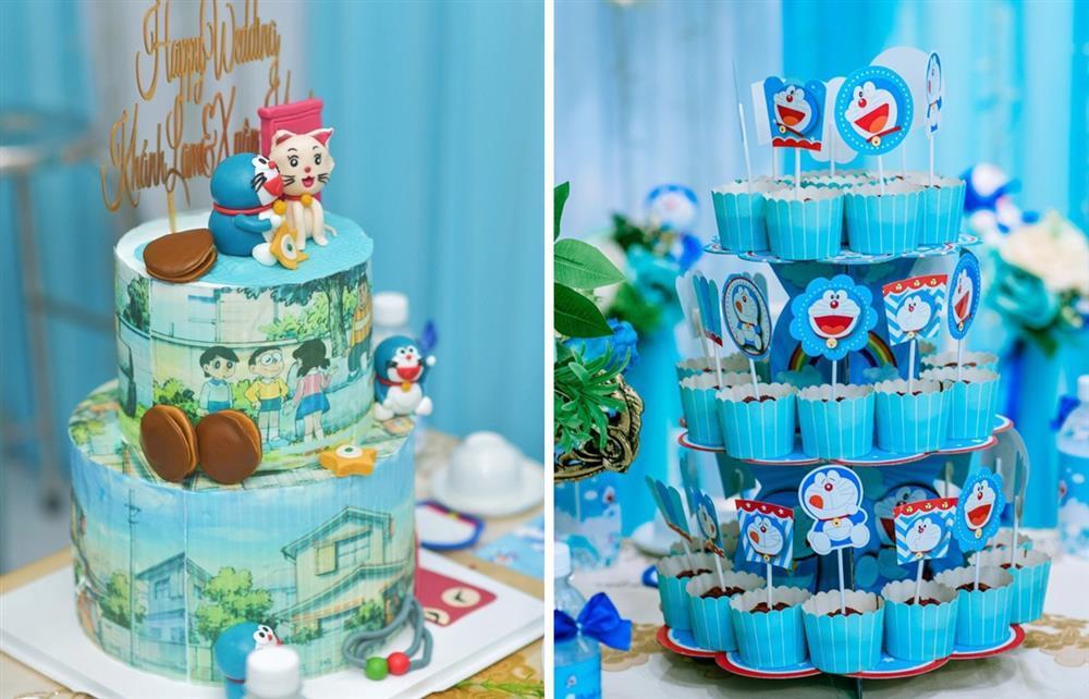 U mê Doraemon, cô dâu 9x được mẹ chồng tặng nguyên bộ trang sức hình mèo máy-11