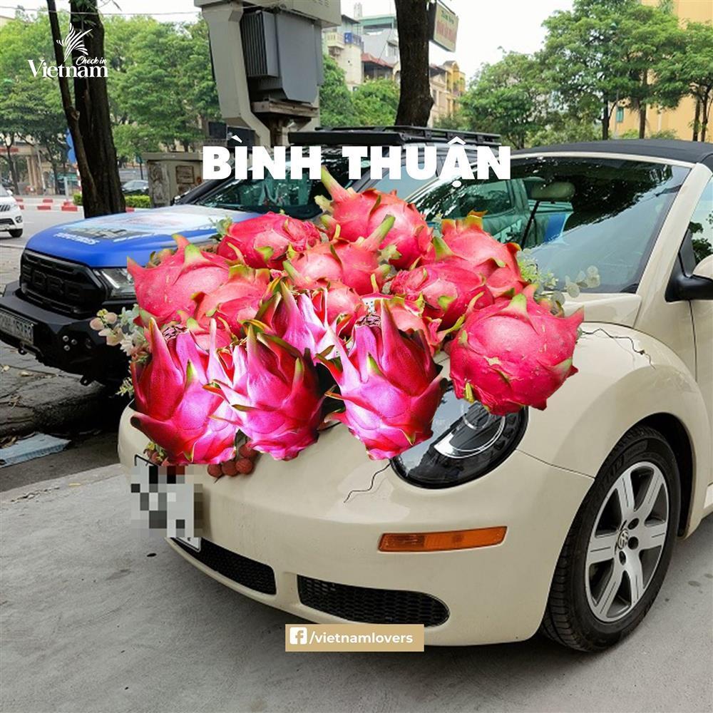 Sau hoa cưới vải thiều, dân mạng chế loạt xe dâu toàn đặc sản quê hương-12